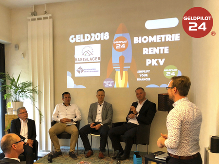 Biometrie Talk mit BARMENIA, ALLIANZ, Hanse-Merkur und Nürnberger